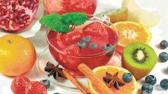 Как приготовить фруктовый и ягодный чай
