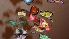 """Мобиль """"Очаровательные бабочки"""""""