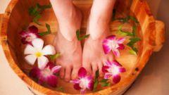 Ванночки для ног при потливости
