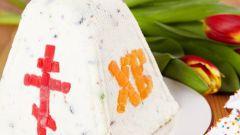 Как приготовить творожную пасху