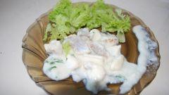 Рыба с картофелем и сыром под соусом «Бешамель»