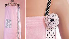 Как сшить банный халатик