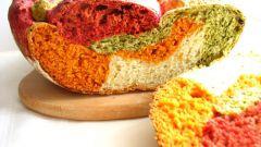 Как приготовить разноцветный овощной хлеб