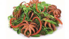 Рецепт приготовления молодых осьминогов