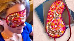 Как сшить очки для сна