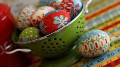 Как сделать пасхальные яйца из ткани