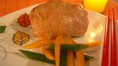 Куриные «колобки» в соусе