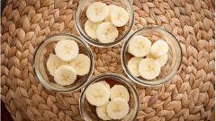 Ванильно - банановый пудинг
