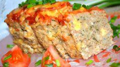Хлебцы мясные с сырной начинкой