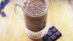 Как приготовить шоколадный Эгг-ног