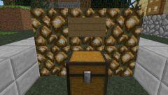 Как в minecraft сделать сундук