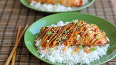 Как приготовить семгу по-азиатски
