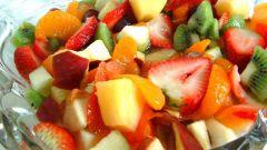 Сладкий салат за 5 минут