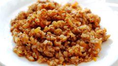 Как приготовить гречку с фаршем в сковородке