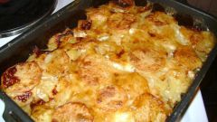 Как запечь картошку в духовке с майонезом и сыром