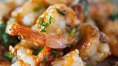 Как приготовить креветки стир-фрай