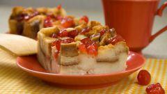 Как приготовить английский хлебный десерт