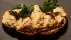Селедочное масло с горчицей