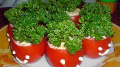 Как приготовить вкусные фаршированные помидоры