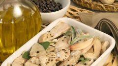 Как приготовить кролика в оливковом масле с чесноком и шалфеем