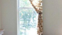 Как сделать шторы из фетра