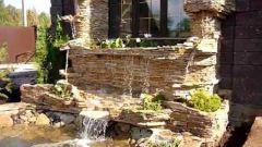 Как сделать маленький водопад для дома