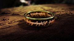 Что было написано на кольце из фильма