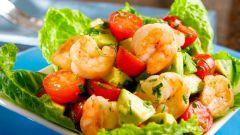Как приготовить простой салат из авокадо