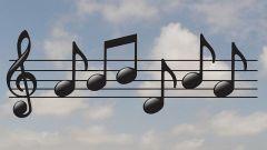 История музыки: скрипичный ключ
