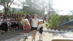 Первые шаги в  школьную жизнь
