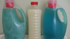 Как сделать жидкий стиральный порошок самому