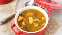 Как приготовить зимний суп с тыквой