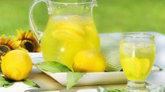 Как приготовить лимонную воду для похудения