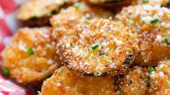 Как приготовить кабачки в панировочных сухарях