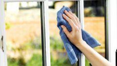 Как хорошо отмыть окна без химии