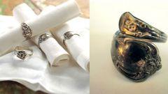 Как сделать кольцо из столовых приборов