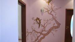 Своими руками разрисовываем стену в квартире