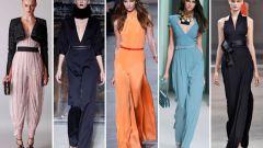 Какие комбинезоны в моде в сезоне весна-лето 2014