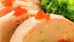 Суфле из лосося в мультиварке