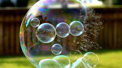 """Делаем """"крепкие"""" мыльные пузыри"""