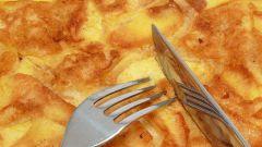 Как приготовить вкусный омлет с яблоками и корицей