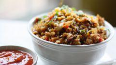 Как приготовить мексиканский рис с жареным беконом