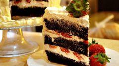 Шифоновый шоколадный торт