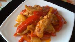 Курица по-китайски
