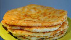 Жаренные сырные лепешки
