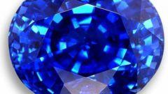 Как отличить сапфировое стекло от минерального