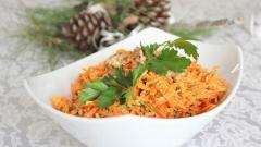 Рецепты легких новогодних салатов