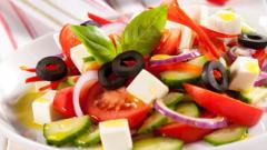 Рецепты салатов с сыром фетакса
