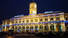 What station in St. Petersburg main