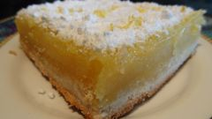Как приготовить быстрый пирог «Лимонный»